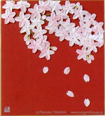 ハート 折り紙 色紙 デザイン 折り紙 : origamihouse.jp