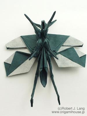 簡単 折り紙 バッタ 折り紙 : origamihouse.jp
