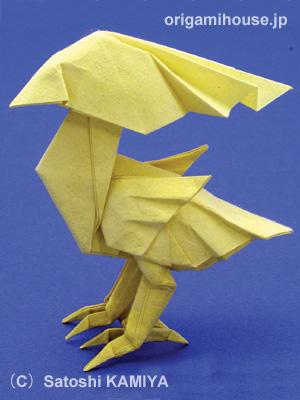 神谷长颈鹿折纸图解
