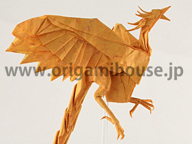 すべての折り紙 折り紙 ライオンの折り方 : Satoshi Kamiya Phoenix Diagram