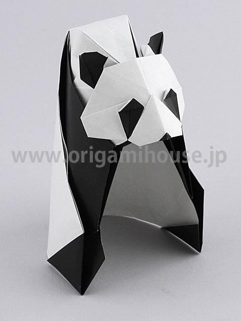 クリスマス 折り紙 パンダ 折り紙 : origamihouse.jp