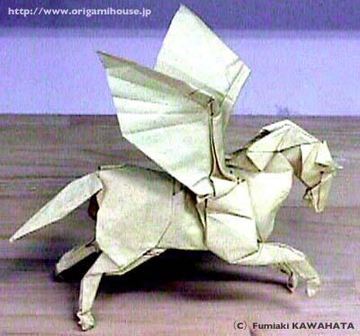 折り 折り紙 折り紙 ペガサス 折り方 : origamihouse.jp