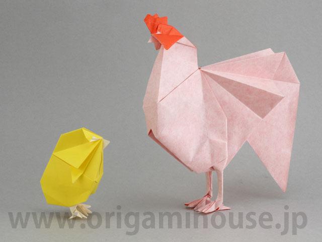 簡単 折り紙 折り紙 ひよこ : origamihouse.jp