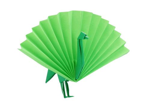 簡単 折り紙 折り紙 孔雀 折り方 : origamihouse.jp