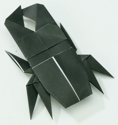 ハート 折り紙 クワガタ 折り紙 簡単 : origamihouse.jp
