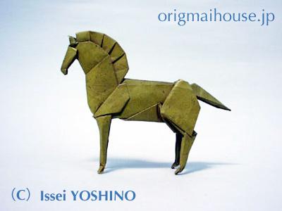 ハート 折り紙 折り紙 馬 : origamihouse.jp