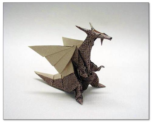 クリスマス 折り紙:恐竜 折り紙-origamihouse.jp