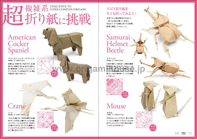 World of Super Complex Origami by Satoshi Kamiya | 454x640